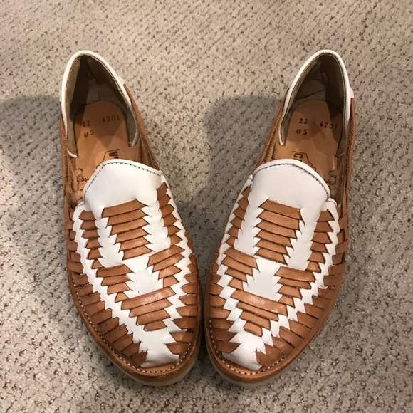 369ec0cead7c Madewell Shoes - Madewell Chamula Cancun Huarache Leather Shoes